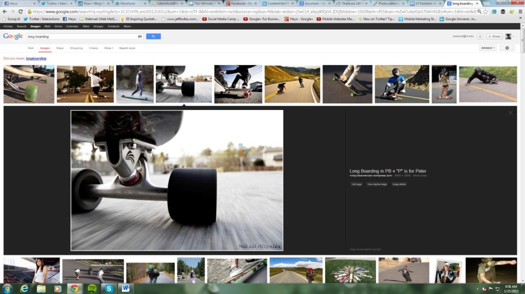 New Google Image Search Function