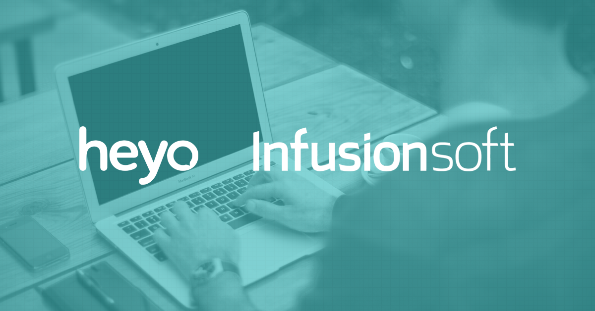 Heyo Infusionsoft integration