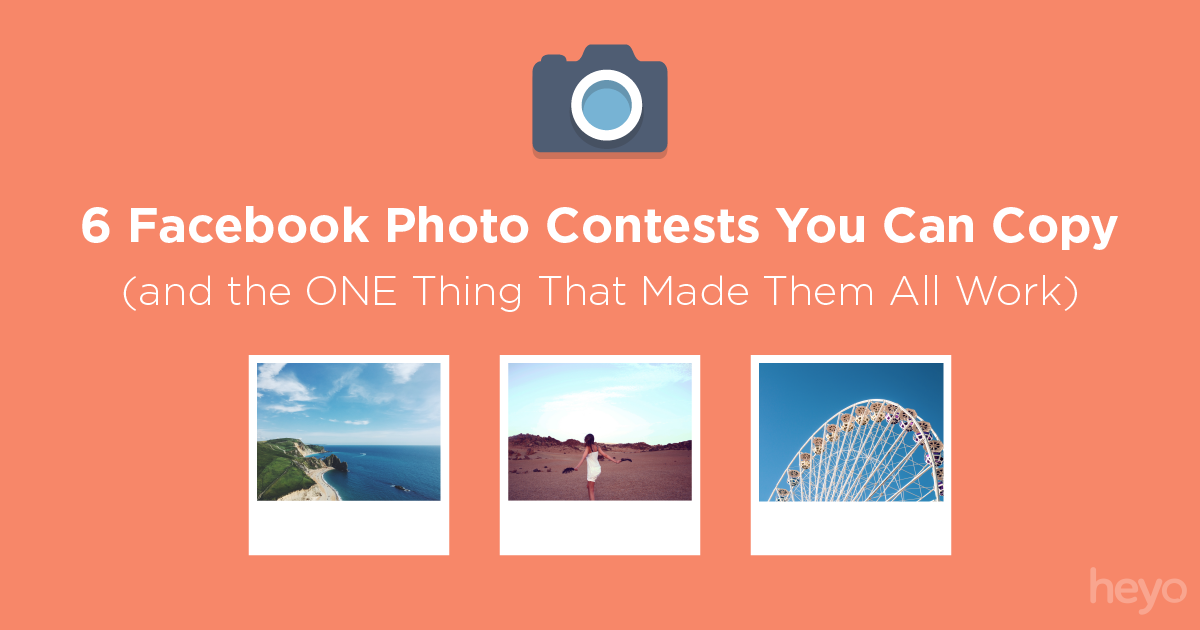 6 facebook photo contests you can copy for Facebook photo contest rules template