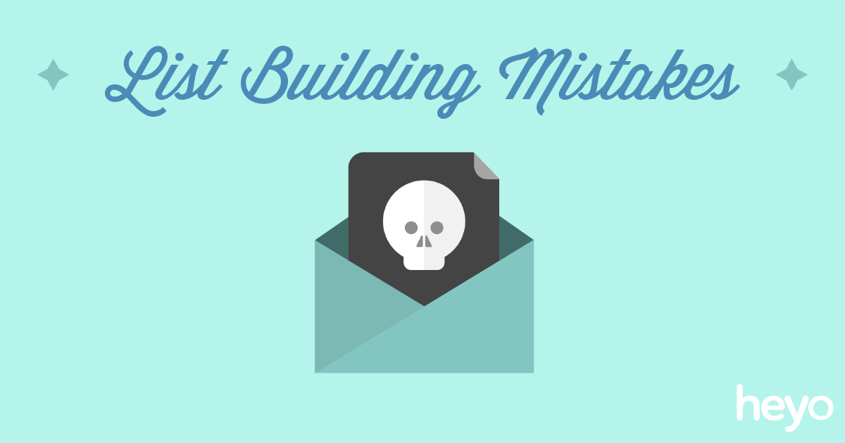 Common List Building Mistakes