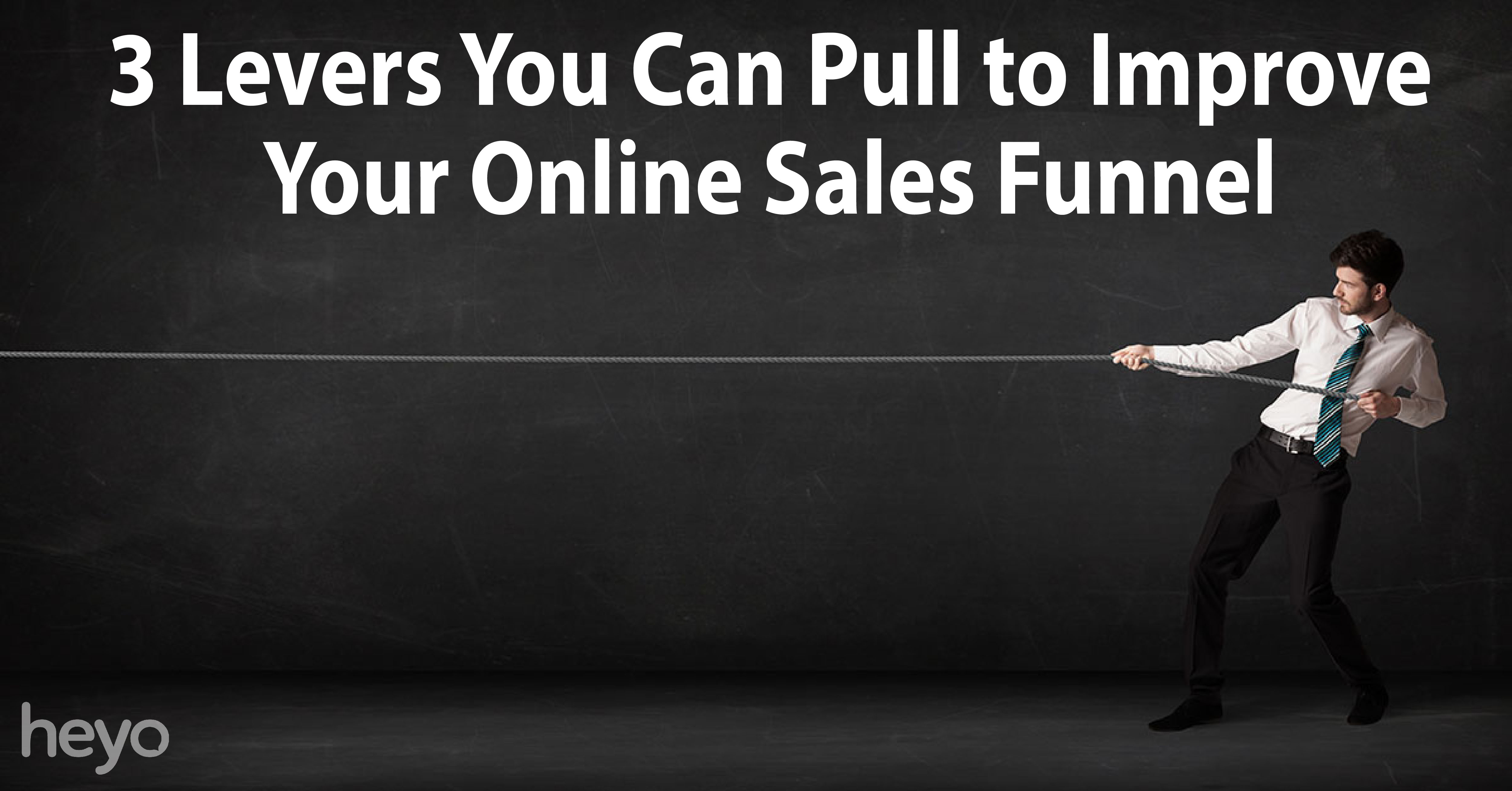 3 levers you can pull to improve your online sales funnel heyo blog