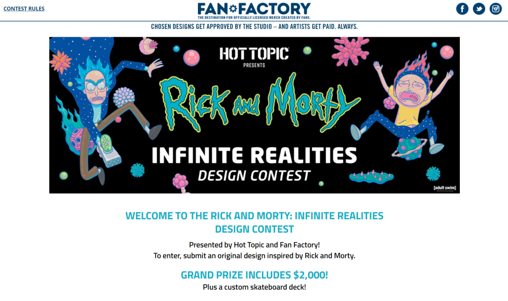 Rick-and-Morty-Design-Contest
